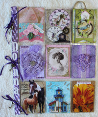 All About Me - A Few of My Favorite Things Pocket Letter for Donna