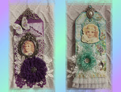 Victorian Double-Sided Tag