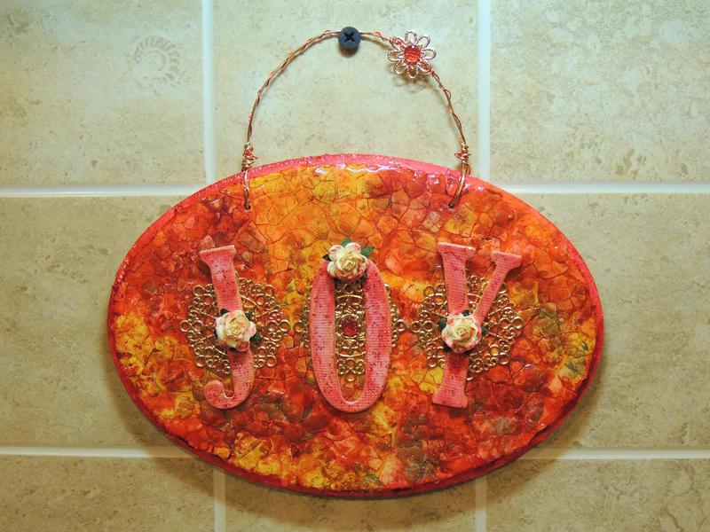 Eggshell Mosaic plaque