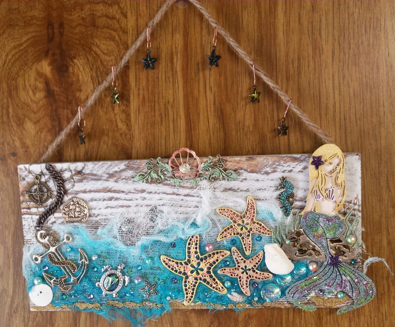 Gifts From the Sea - Reneabouquets August Swap