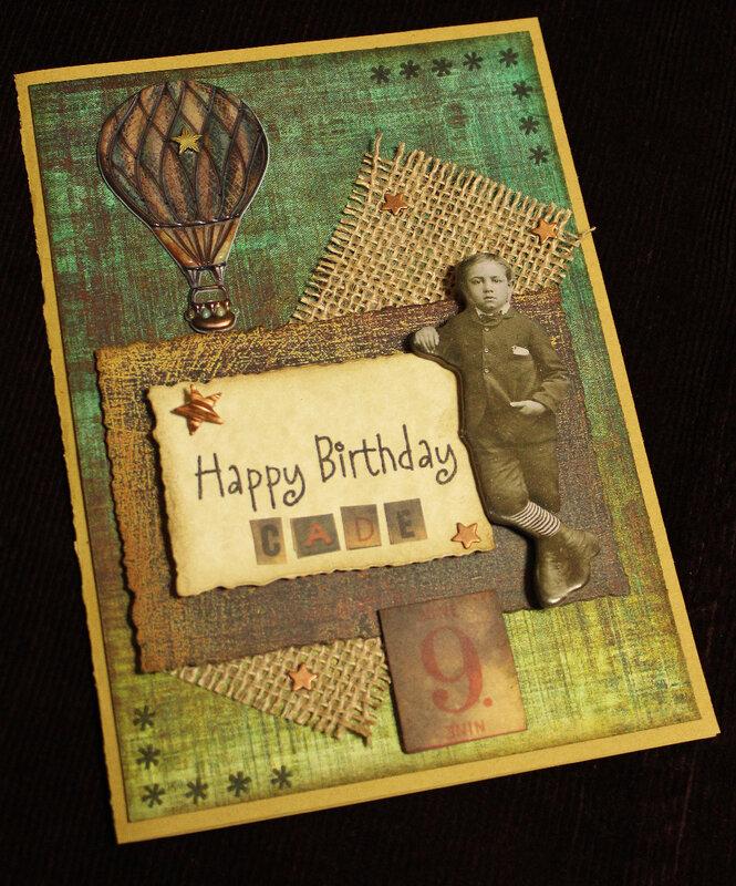 Cade's Birthday Card