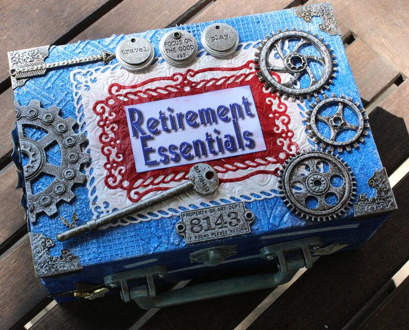Retirement Essentials Altered Box