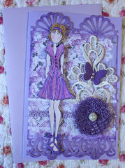 Prima Doll Birthday Card