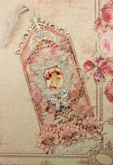 Vintage/Shabby Chic Tag for June Swap
