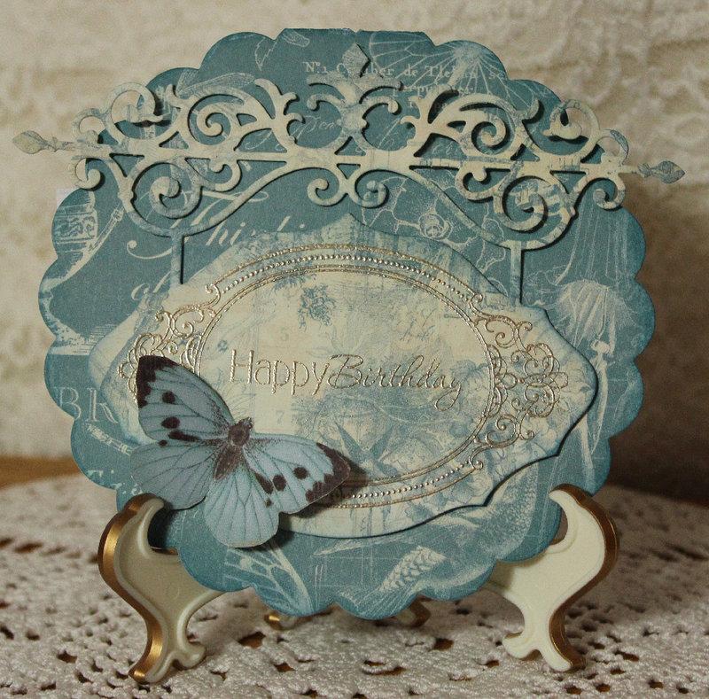 Botanical Tea Birthday Card