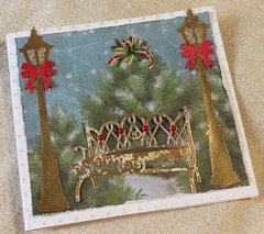 A Peaceful Setting Christmas Card