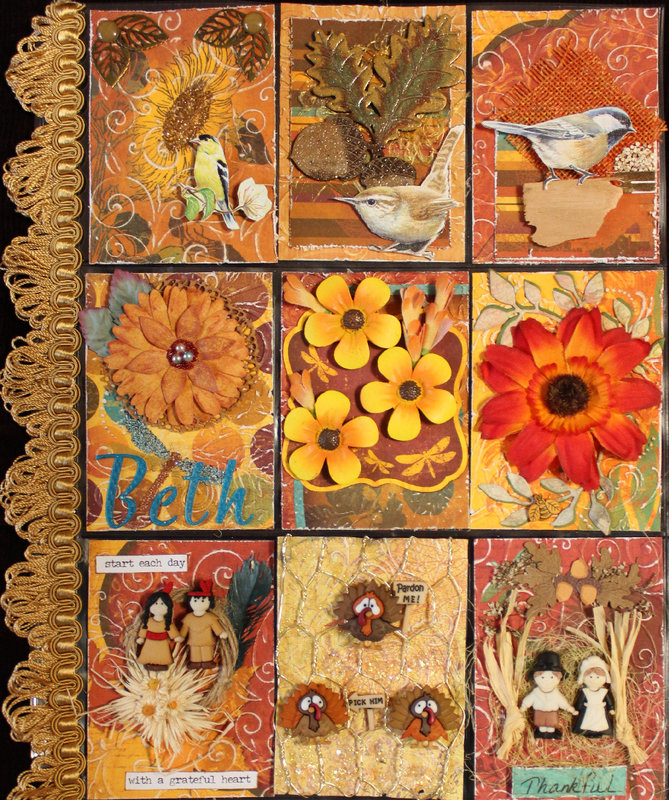 Autumn/Thanksgiving Pocket Letter (for Beth)