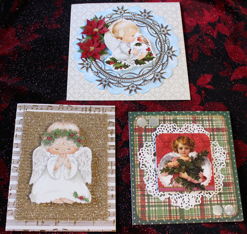 Little Angels Christmas Cards