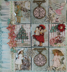 *Reneabouquets* A Snowy Winter Christmas Pocket Letter