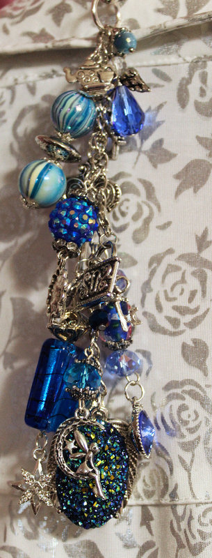 Shades of Blue Chunky Charms