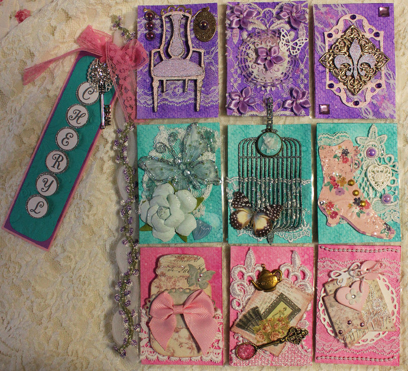 A Potpourri of Gifts - January Pocket Letter (for Cheryl)