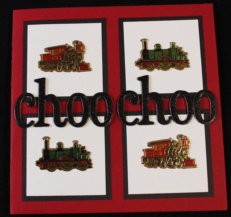 Choo-Choo...Happy Birthday to You