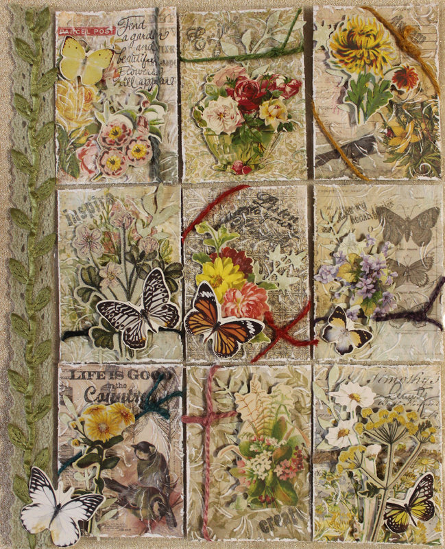 *Tim Holtz* Botanicals Pocket Letter