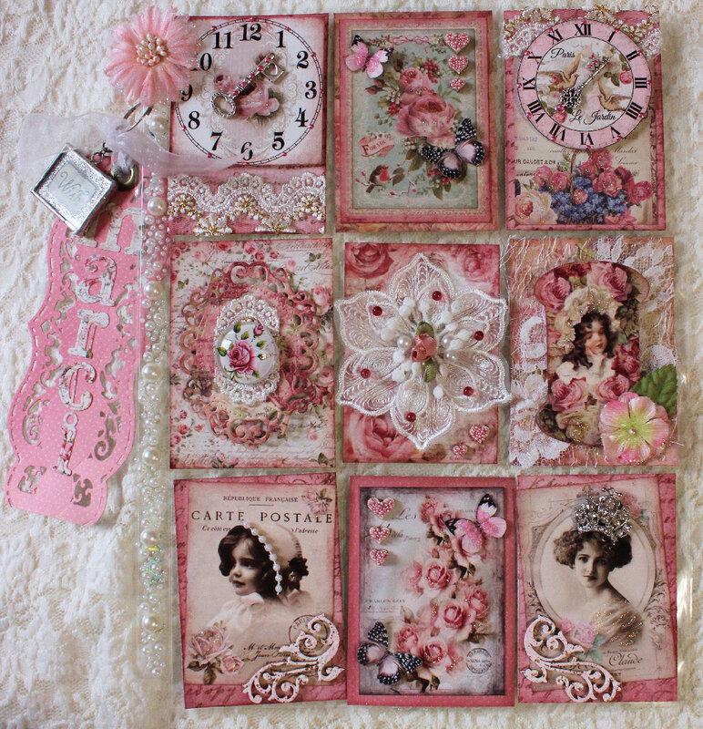 Pink Passion Pocket Letter (for Marci)