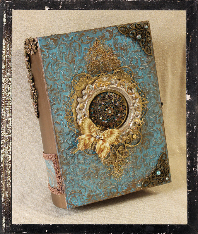 Altered Book Box - Renaissance Style