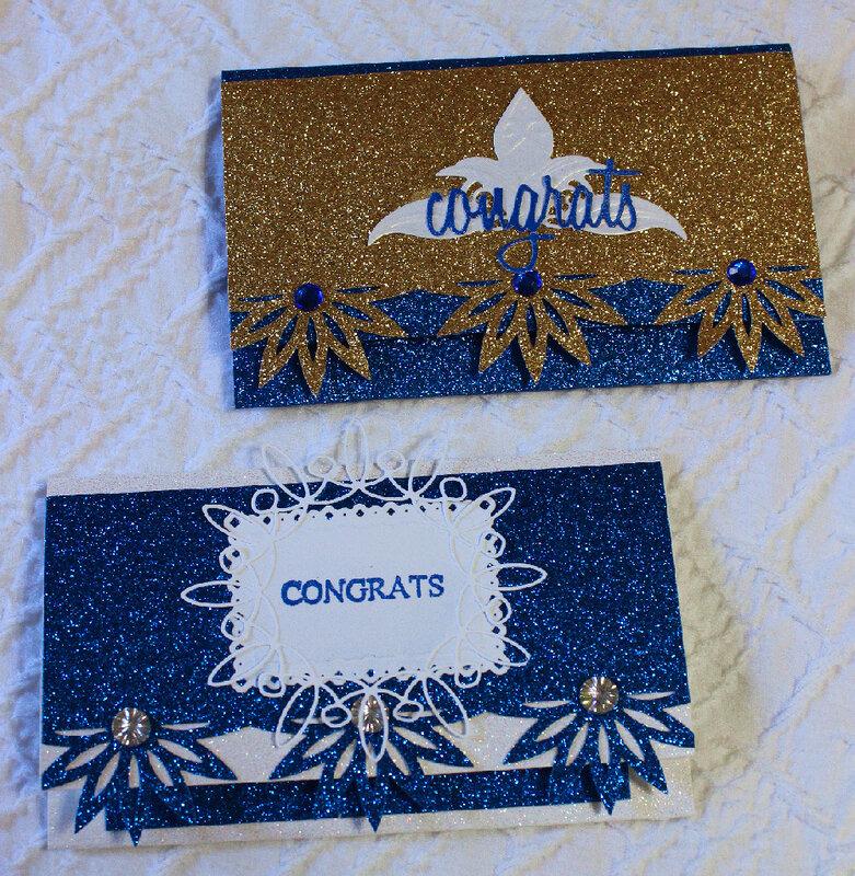 Graduation Check or Cash Cards