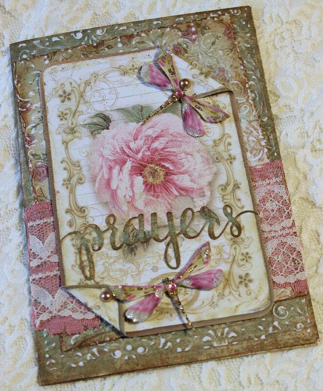 Prayers Sympathy Card