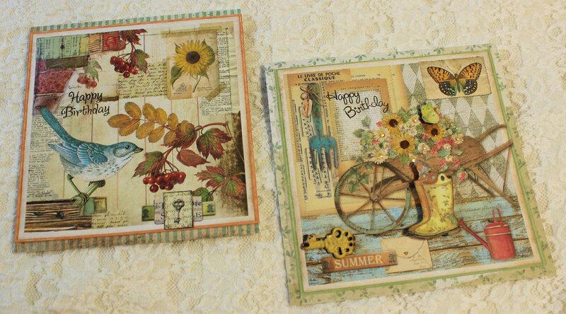 Garden Birthday Cards