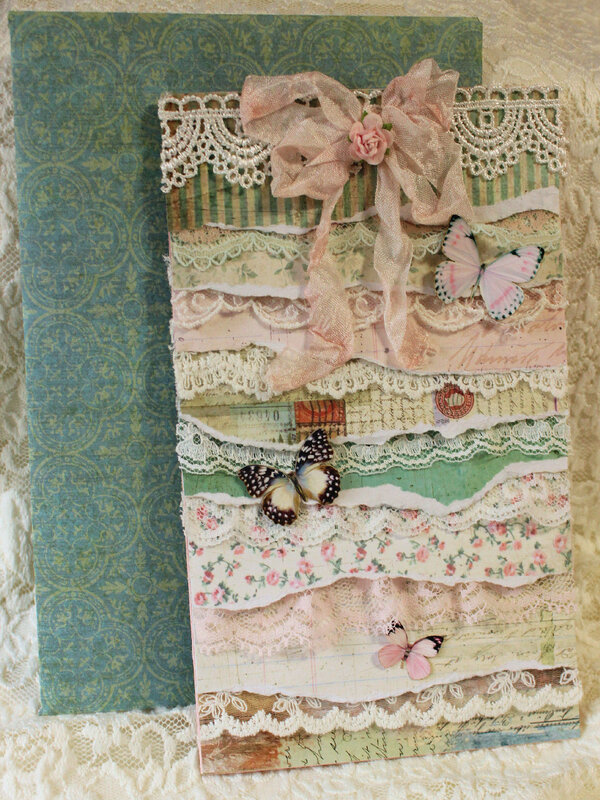 Shabby Layers Thinking of You w/ Envelope