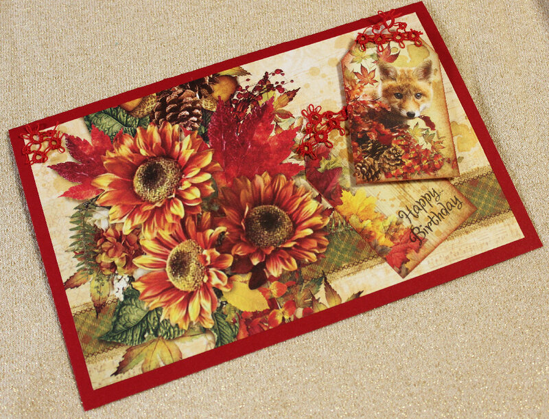 Autumn Beauty Birthday Card