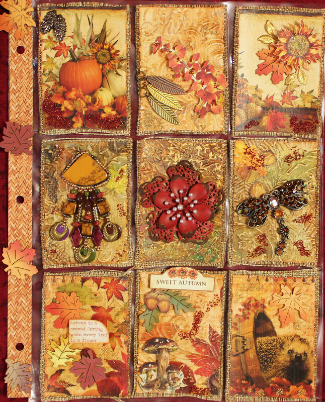 Autumn Pocket Letter for Tracy