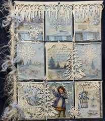 Winter-themed Pocket Letter for Peggy