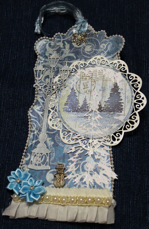 Winter-themed Tag
