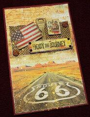 Enjoy the Journey Birthday Card