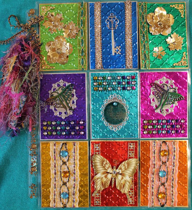 Bohemian Tapestry (Metallics) Pocket Letter