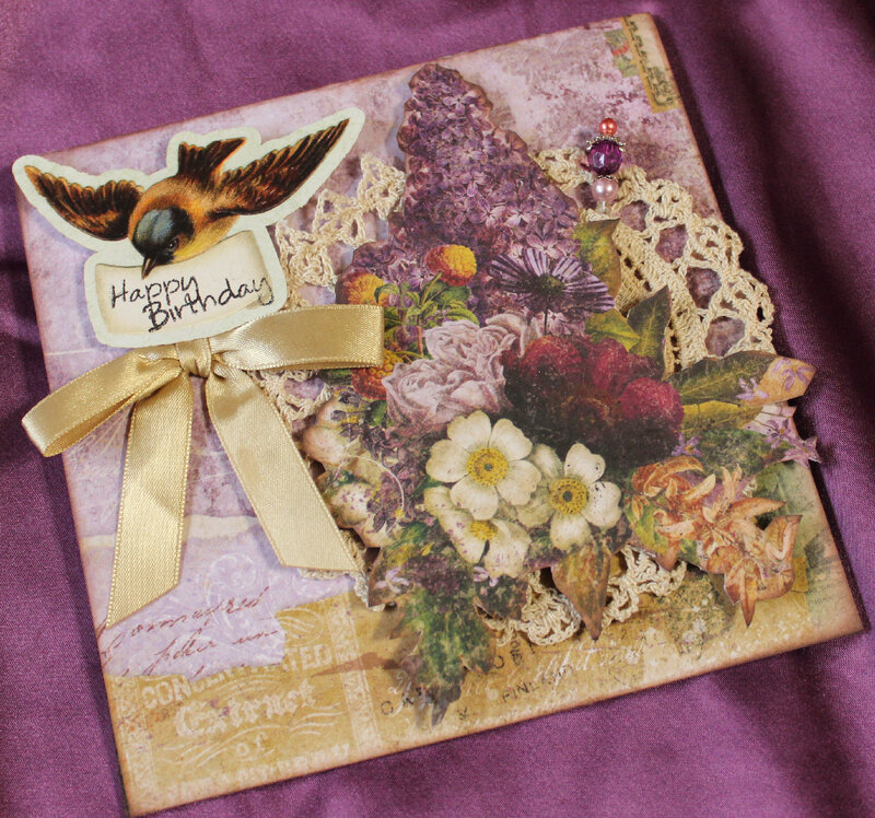 Eclectic Charm Birthday Card