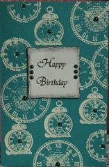 Embossed Birthday Card