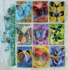 Butterflies in Flight - June Pocket Letter Swap