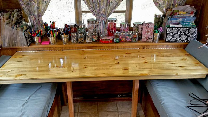 My New Craft Table