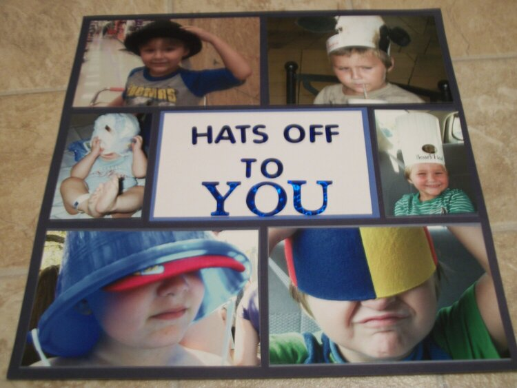 Hats off to you (Left Side) *