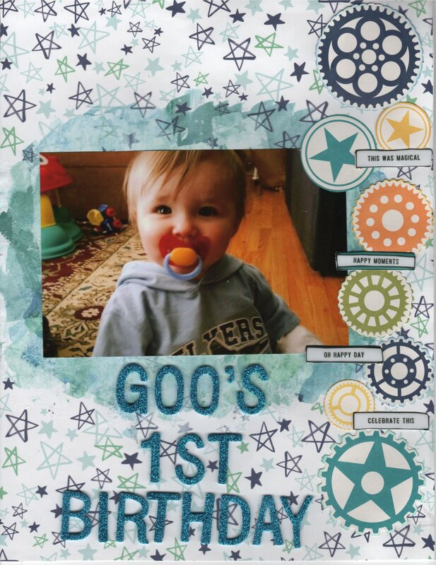 Goo's 1st Birthday