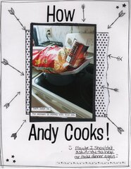 How Andy Cooks
