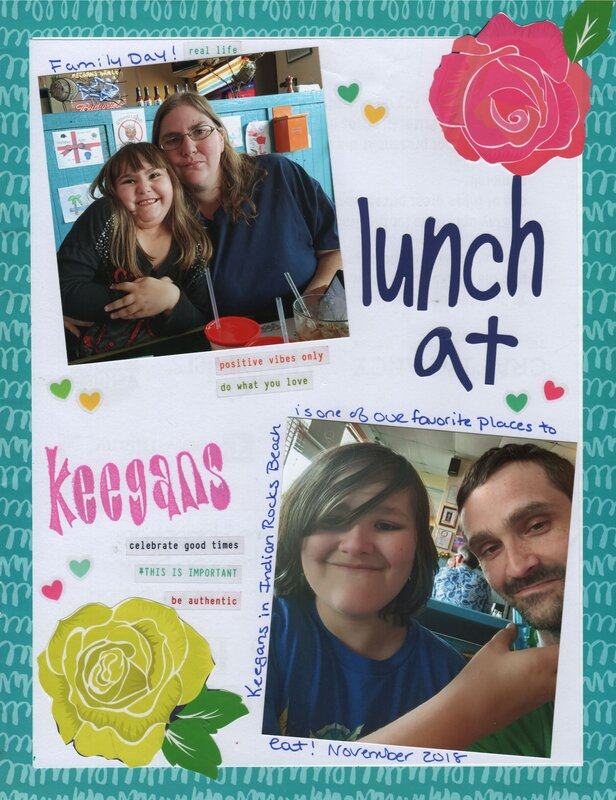 Lunch at Keegan's