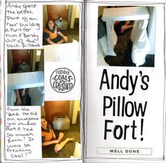 Andy's Pillow Fort
