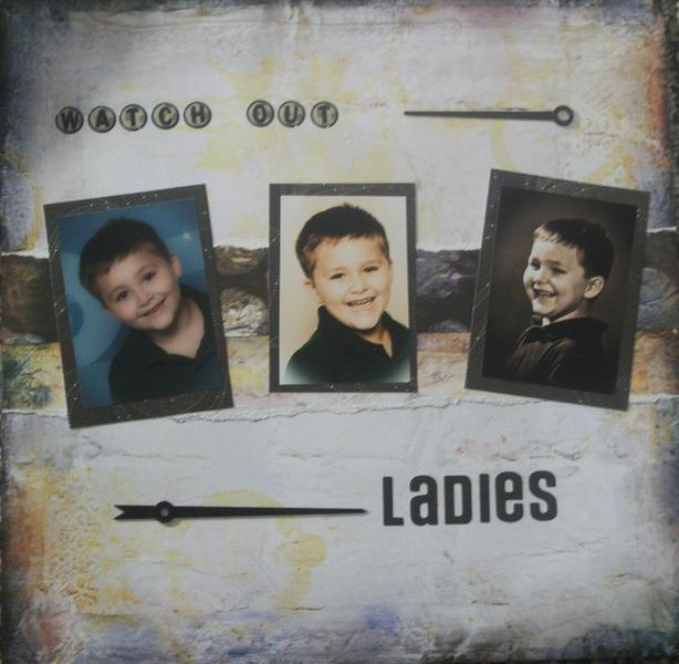 Watch Out Ladies ~ Scraps of Darkness June 2012 kit
