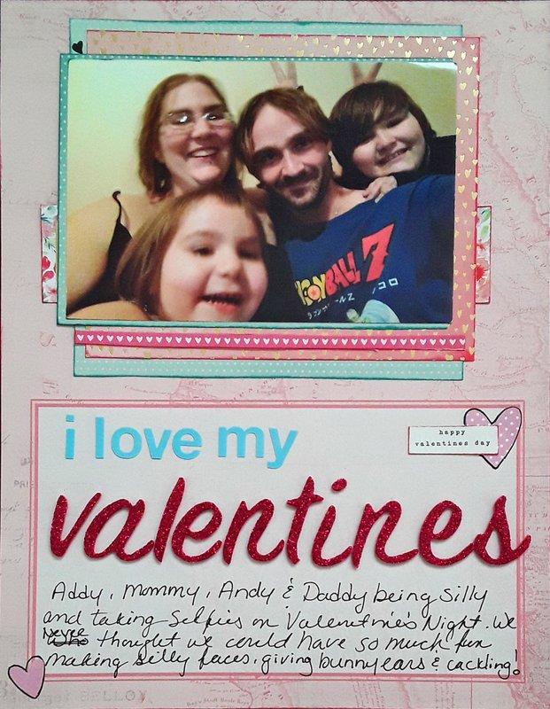 I Love My Valentines