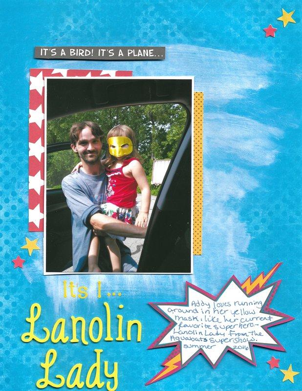 It's I...Lanolin Lady!