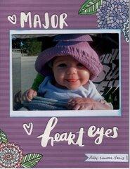 Major Heart Eyes