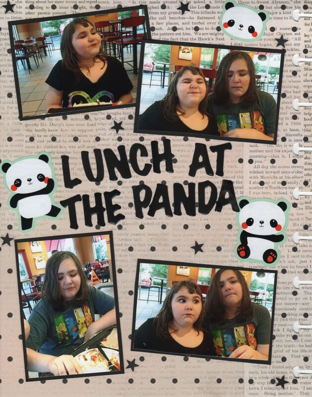 Lunch at the Panda