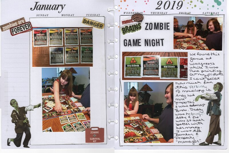 Zombie Game Night