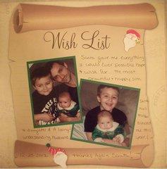 My Xmas Wishlist 2012