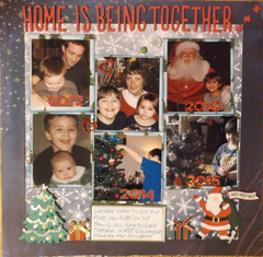Home for the Holidays - December Music Inspiration Challenge