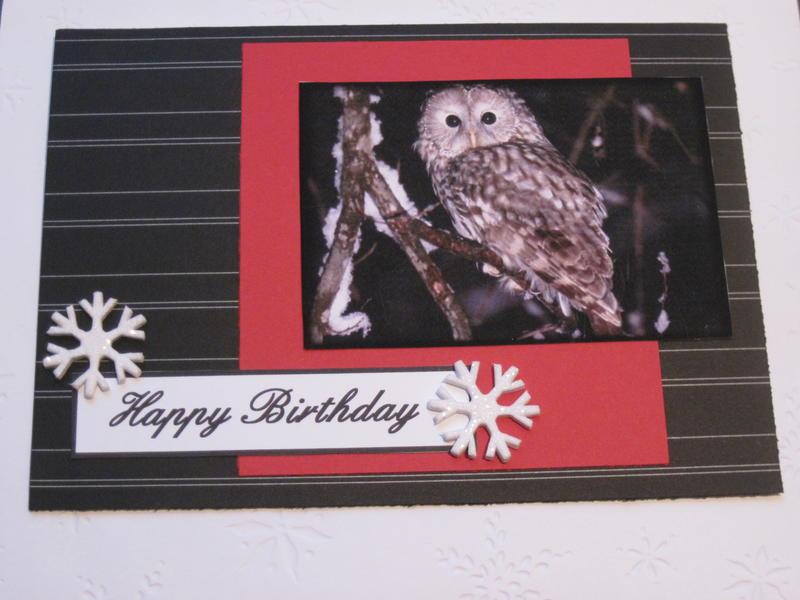 Birthday card for a man