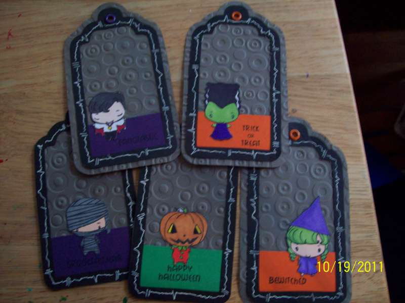 Halloween boxed I received from Cheena