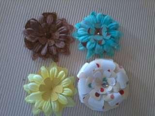 April Handmade flower swap