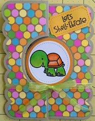 Turtle Flip-it Birthday Card